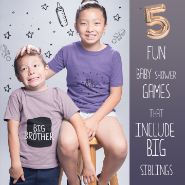 5 Fun Baby Shower Games that Include Big Siblings