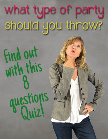 Find out what type of party should you throw for your adult friends?